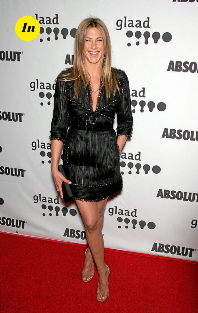 La petite robe de créateur de Jennifer Aniston en Avril 2007 !