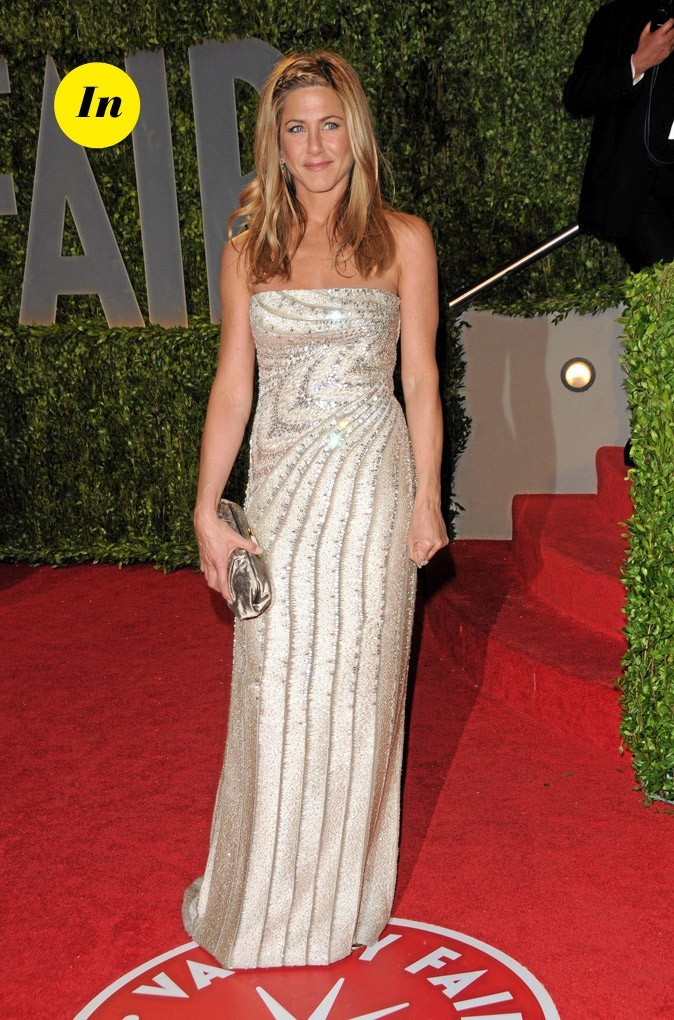 La robe longue Valentino de Jennifer Aniston en Février 2009 !