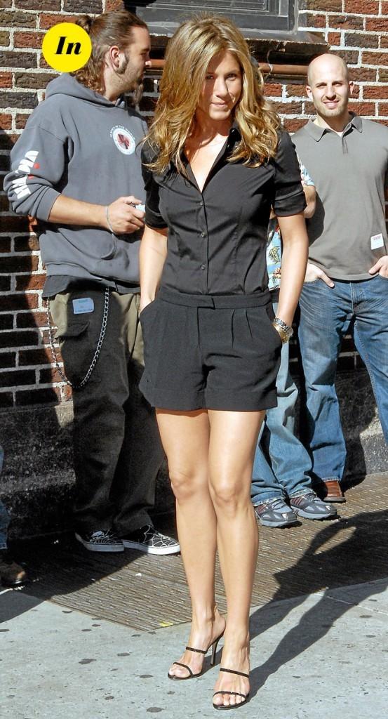 Le combishort noir de Jennifer Aniston en Mai 2006 !