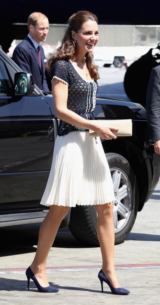 Kate Middleton le 10 juillet 2011 à Los Angeles : un look signé Whistles pour 150$