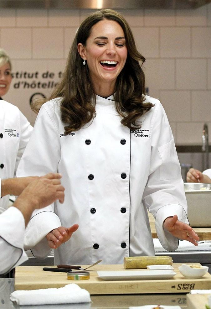 Kate Middleton le 2 juillet 2011 au Canada : une veste de chef !