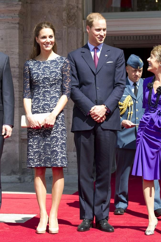 Kate Middleton le 30 juin 2011 au Canada : une robe du designer canadien Erdem