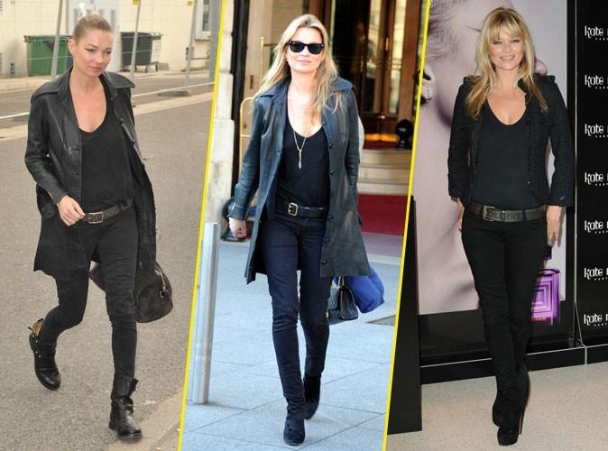 Looks de Kate Moss : la it girl s'habille-t-elle toujours pareil ?