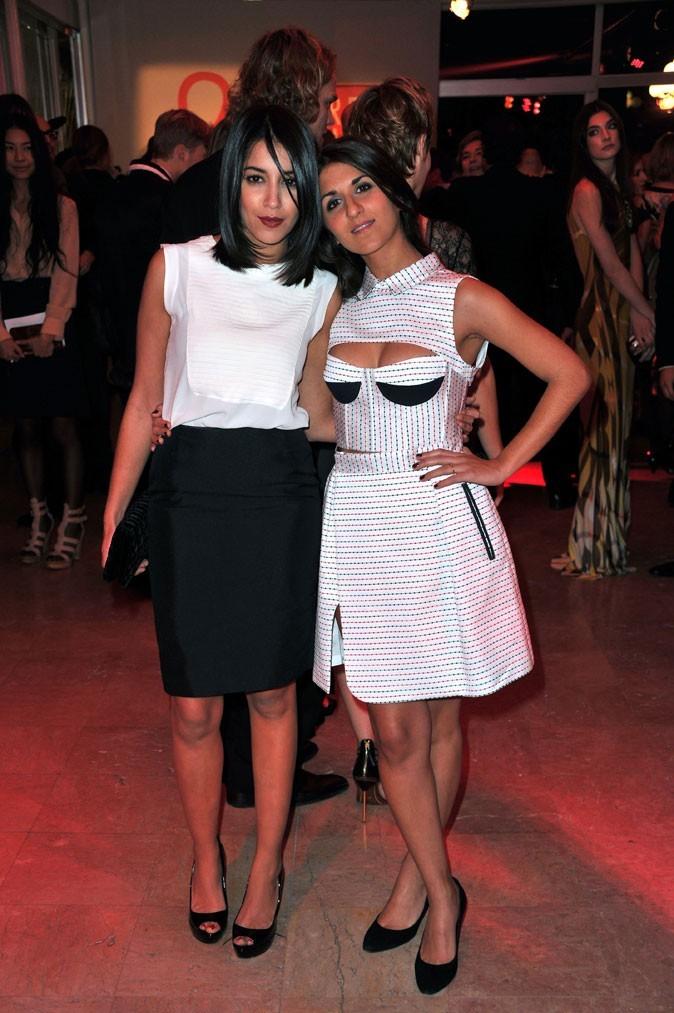 Le look chic black & white de Leïla Bekhti en Janvier 2011 !