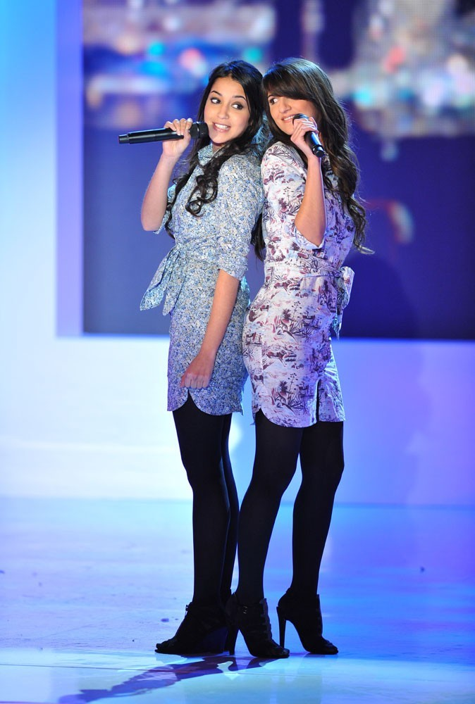Les robes chemises imprimées de Leïla Bekhti et Géraldine Nakache en Avril 2010 !