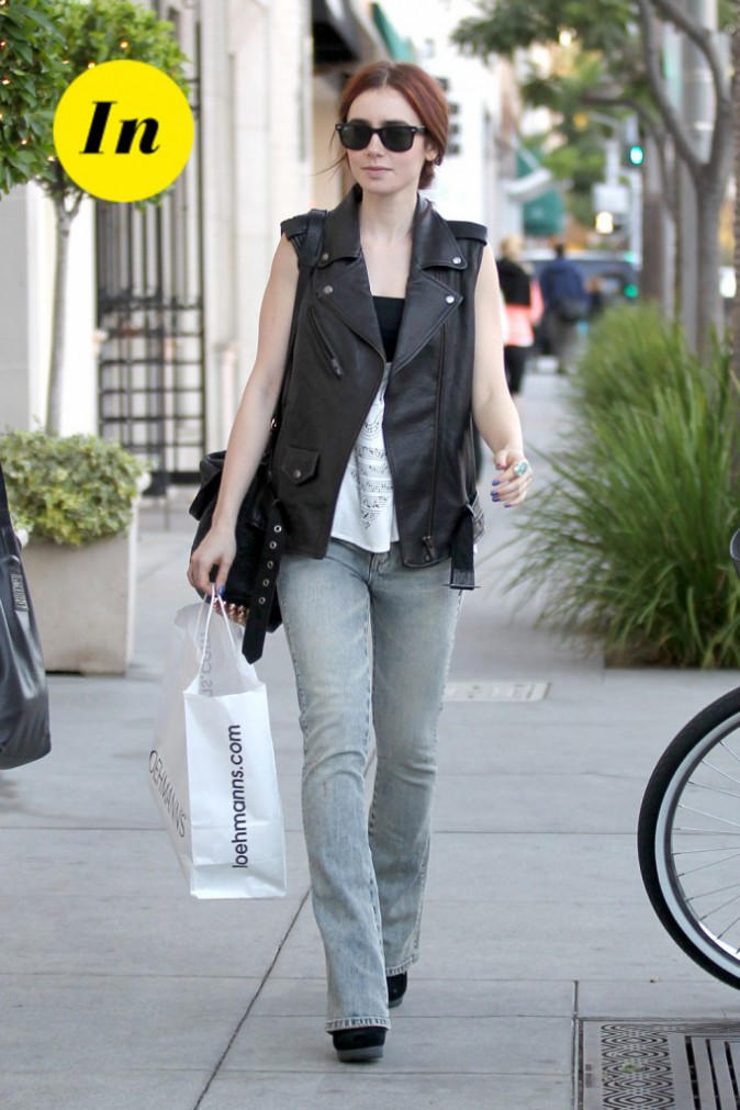 Looks de Lily Collins