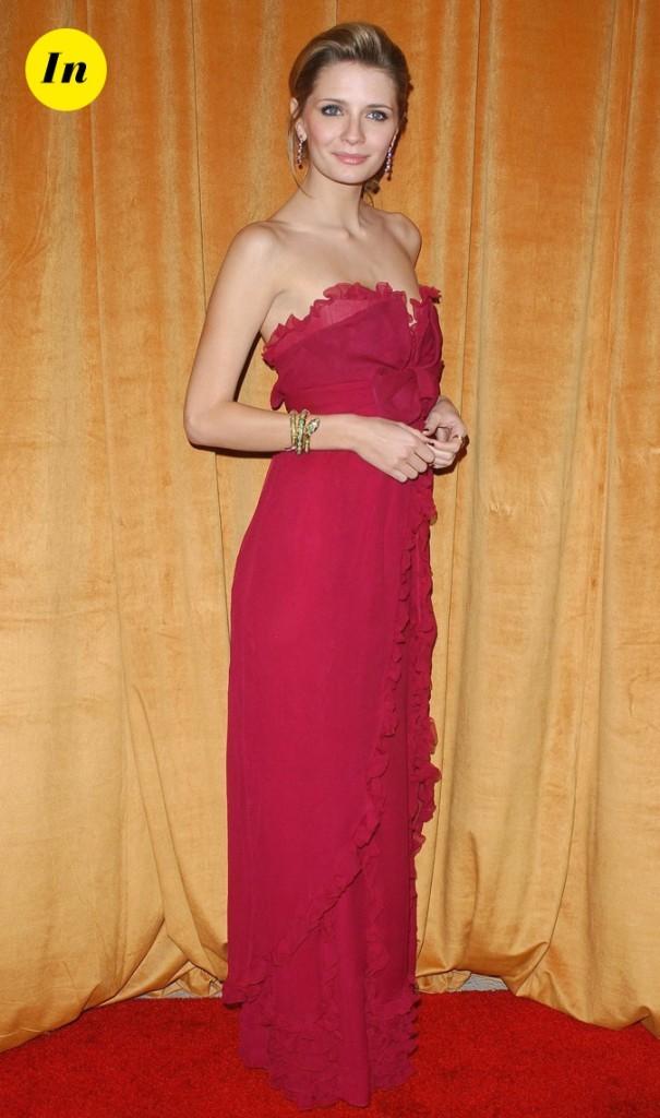 2006 : Mischa Barton lors des Glamour Golden Globes !