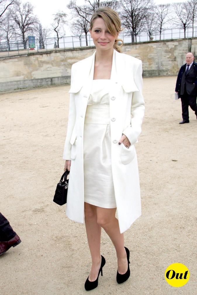 2007: Mischa Barton se rend au défilé Dior !