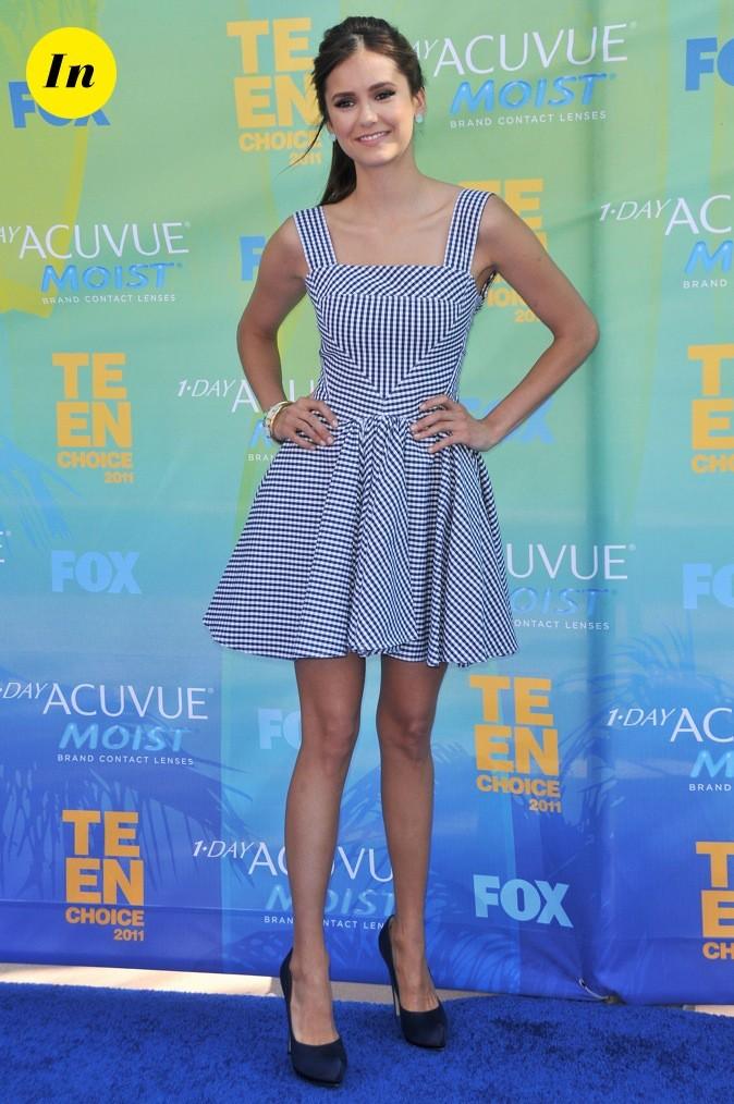 Nina Dobrev lors des Teen Choice Awards en 2011 !