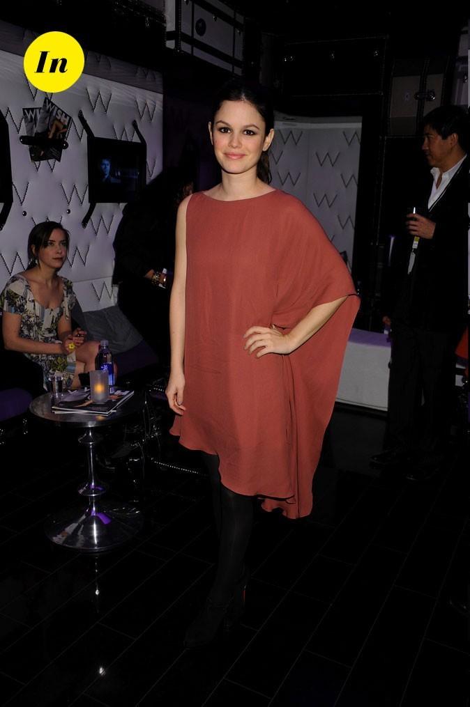 La robe fluide brique de Rachel Bilson en Février 2009 !