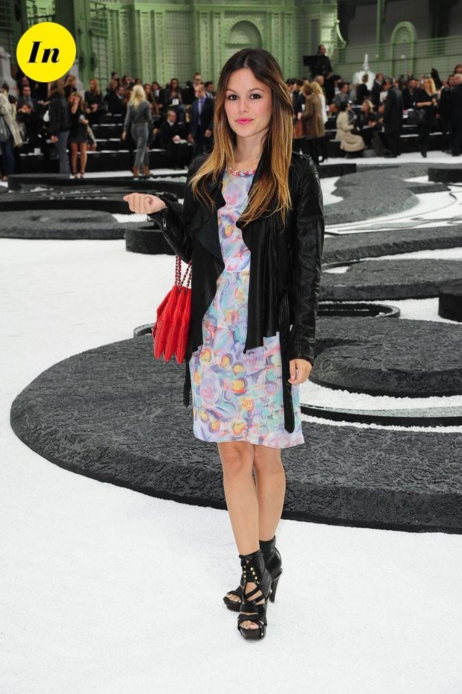 La tenue romantique & cuir Chanel de Rachel Bilson en Octobre 2010 !