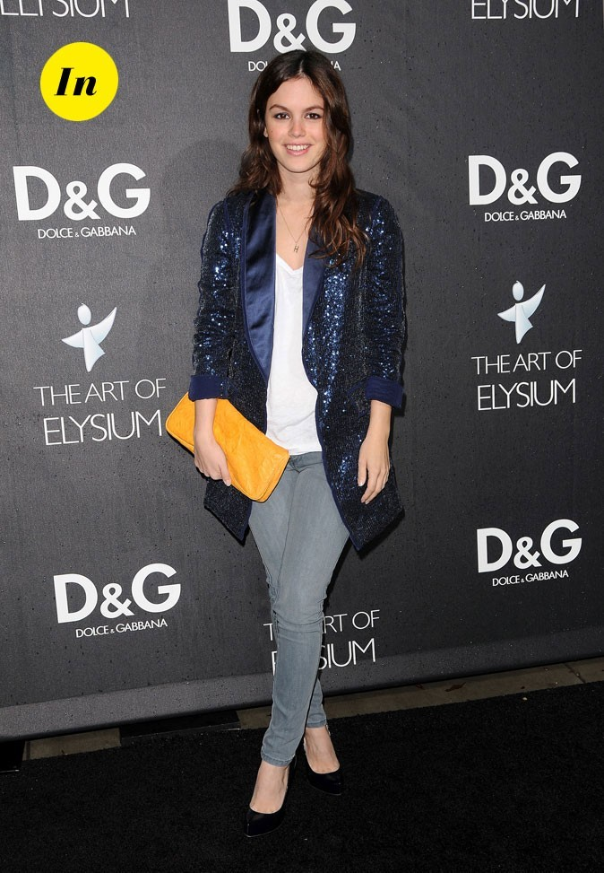 La veste à sequins de Rachel Bilson en Décembre 2008 !
