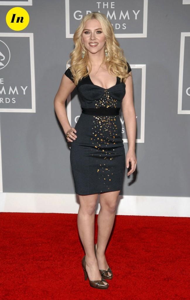 Scarlett Johansson en 2007 : une petite robe noire sophistiquée