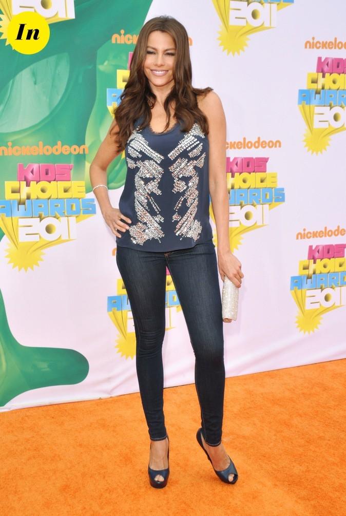 Sofia Vergara lors des Kid's Choice Awards !