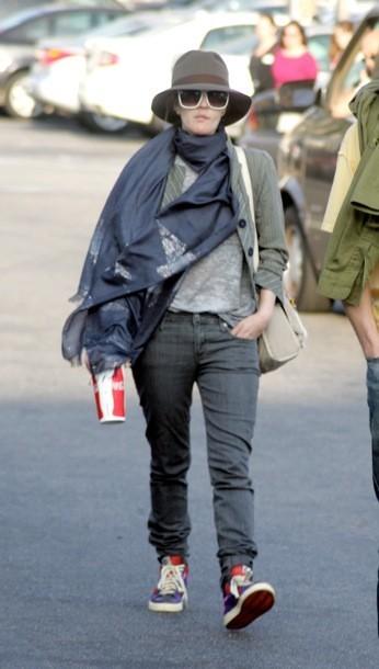 Drew Barrymore grunge toujours !