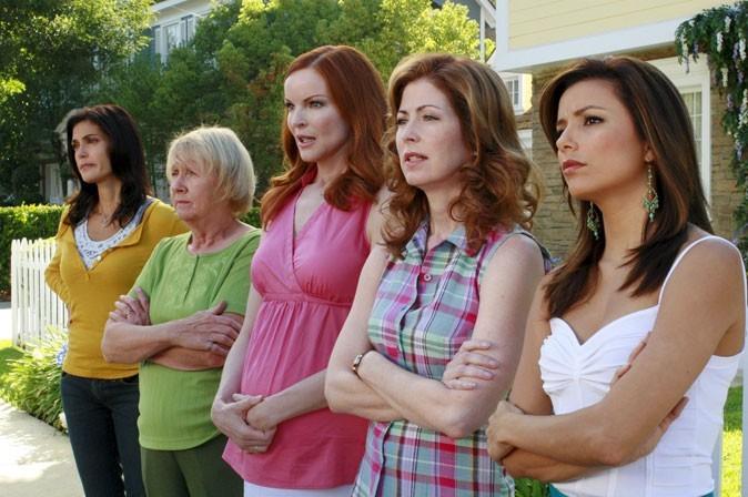Des looks casual pour les femmes au foyer de Wisteria Lane...