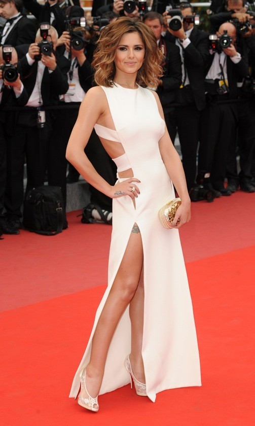 Cheryl Cole en Versace