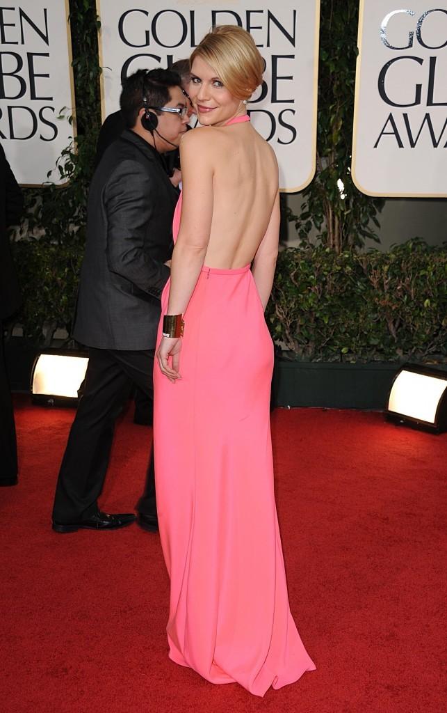 Claire Danes en Calvin Klein