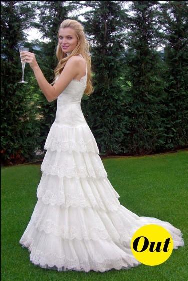 La robe de mariée d'Esther Canadas