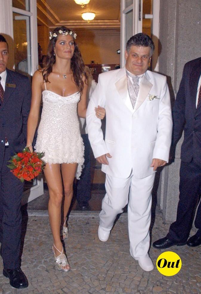 La robe de mariée d'Isabela Fontana