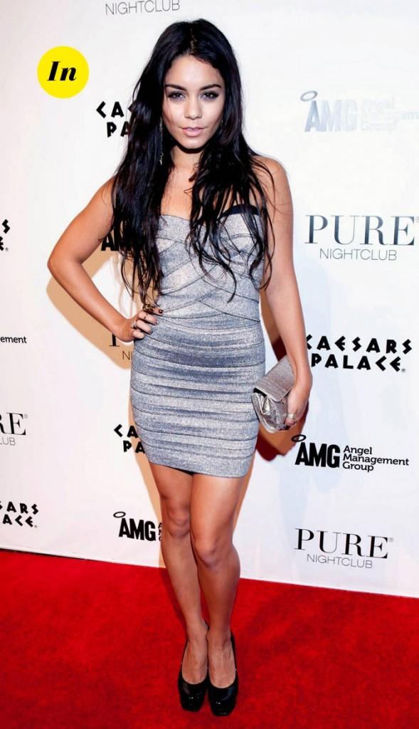 Le look glam' de Vanessa Hudgens en Décembre 2010 !