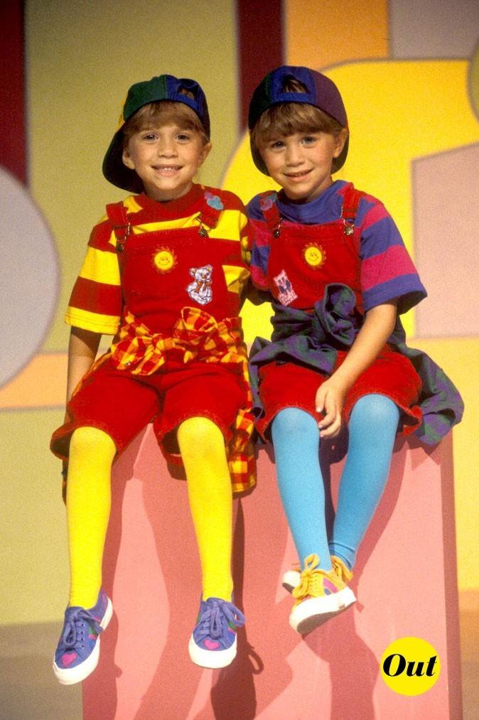 Les jumelles Olsen en 1993 !
