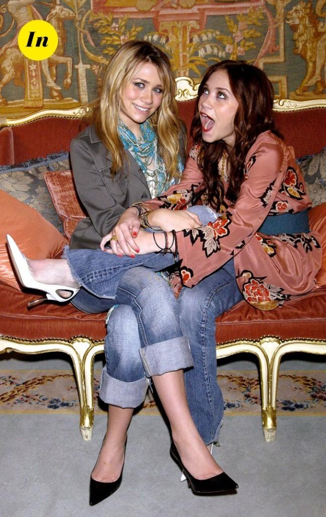 Les looks casual chic des jumelles Olsen en Février 2004 !