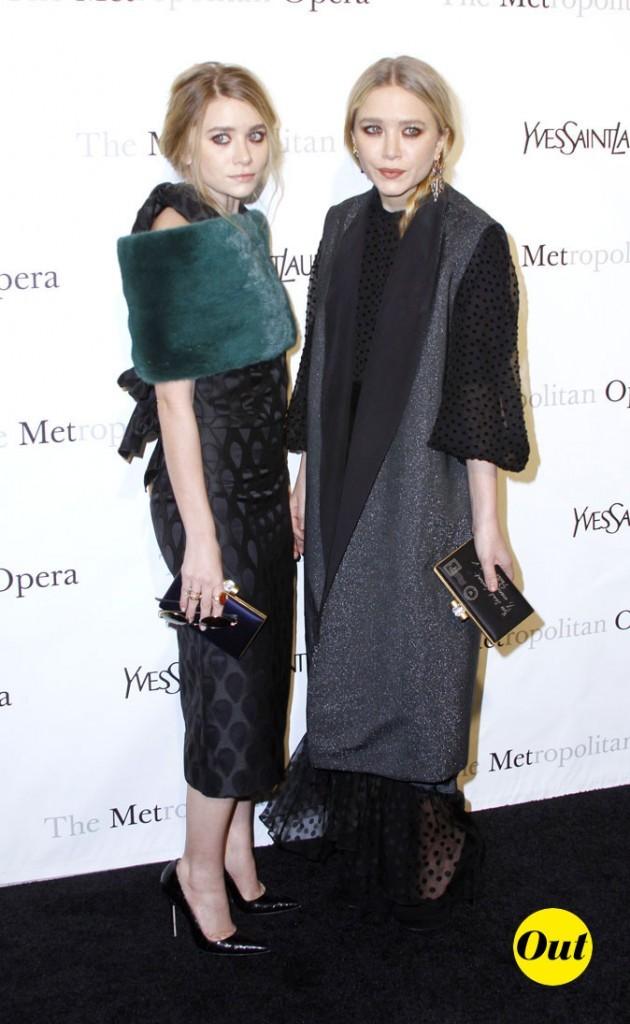 Les looks Famille Adams des soeurs Olsen en Mars 2011 !