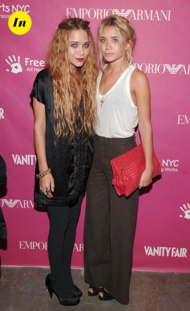 Les looks minimalistes chic des soeurs Olsen en Mai 2006 !