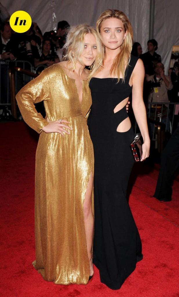 Les robes longues glamour de Mary-Kate et Ashley Olsen en Mai 2008 !