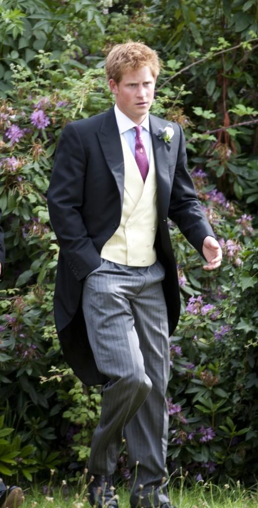 Le Prince Harry, chic à souhait !