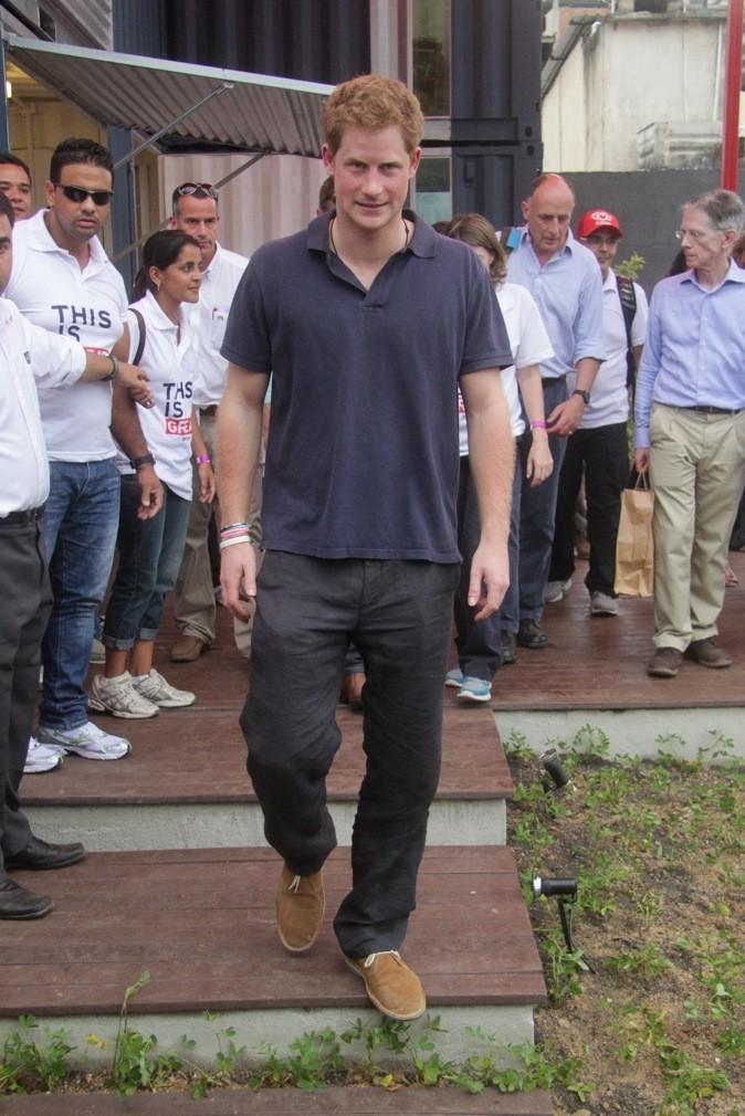 Le Prince Harry dans les favelas !