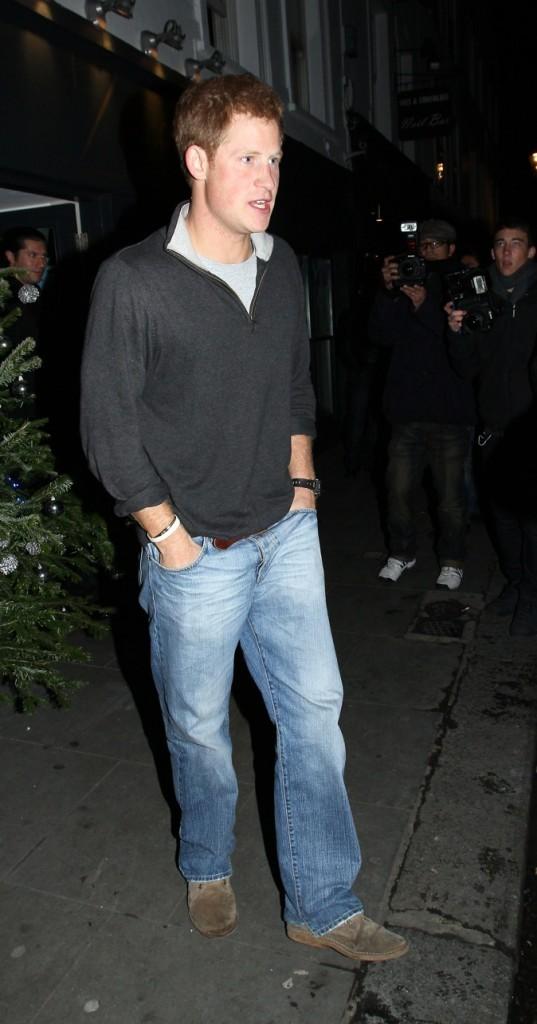 Le Prince Harry en mode casual !