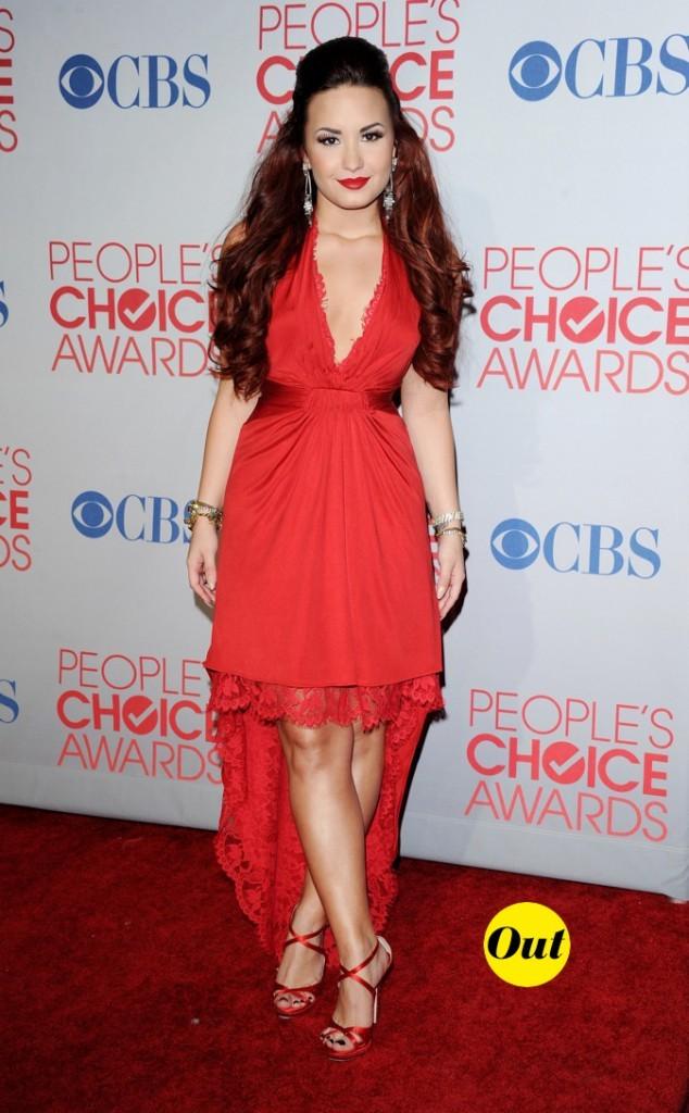 Et un fashion faux-pas pour Demi Lovato, un !