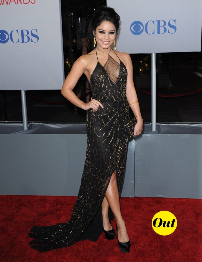 Vanessa Hudgens a confondu les People's Choice Awards avec Halloween