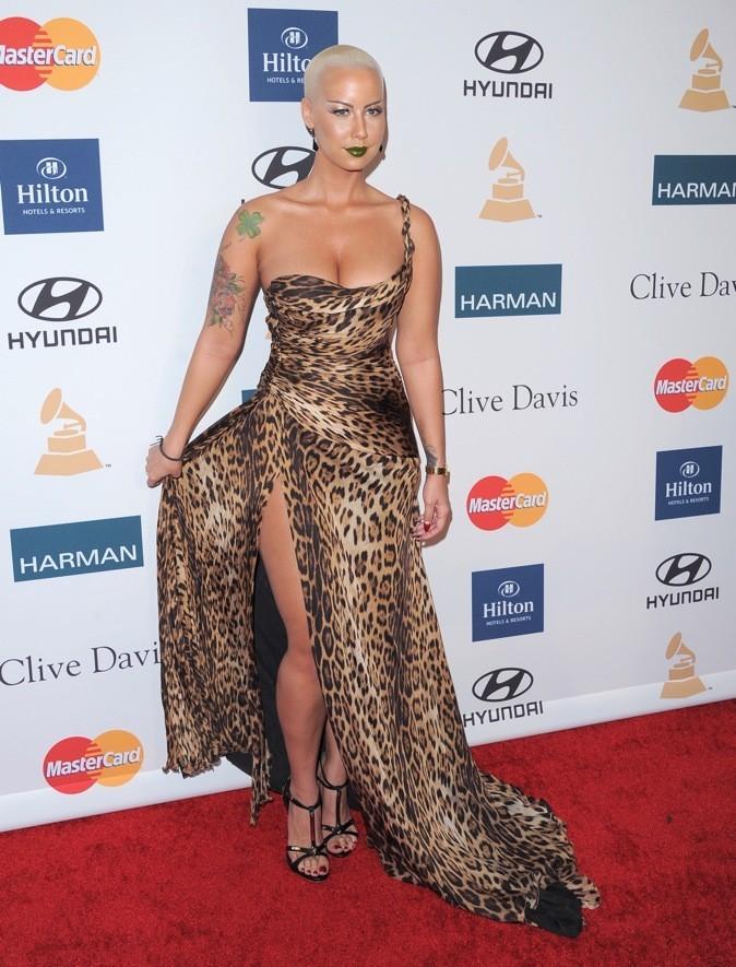 2012: Amber Rose au Beverly Hilton.
