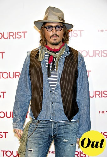Mode homme 2011 : le look cow-boy de Johnny Depp