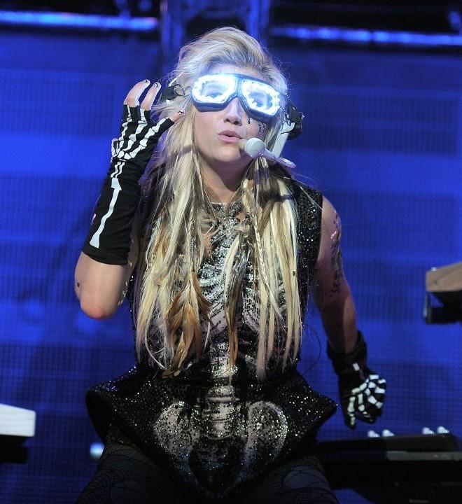 Ke$ha sur scène