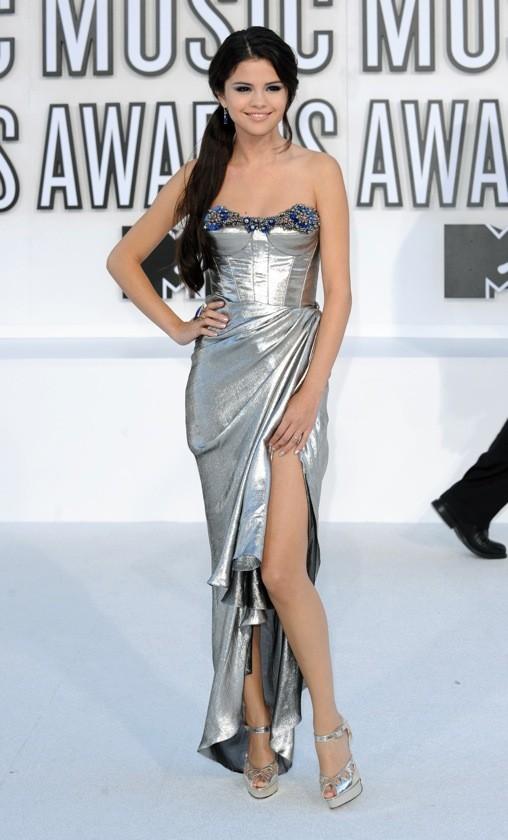 Selena Gomez en Reem Acra