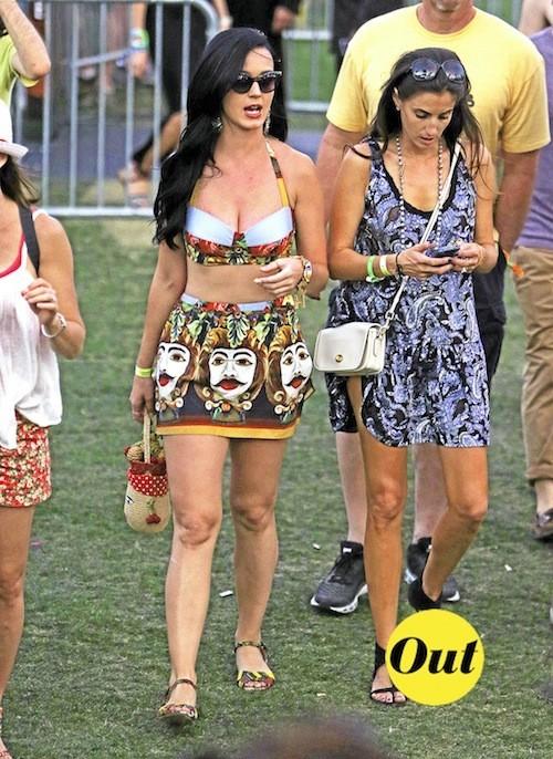 La jupe boule de Katty Perry