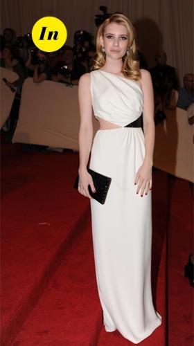 Emma Roberts en Michael Kors