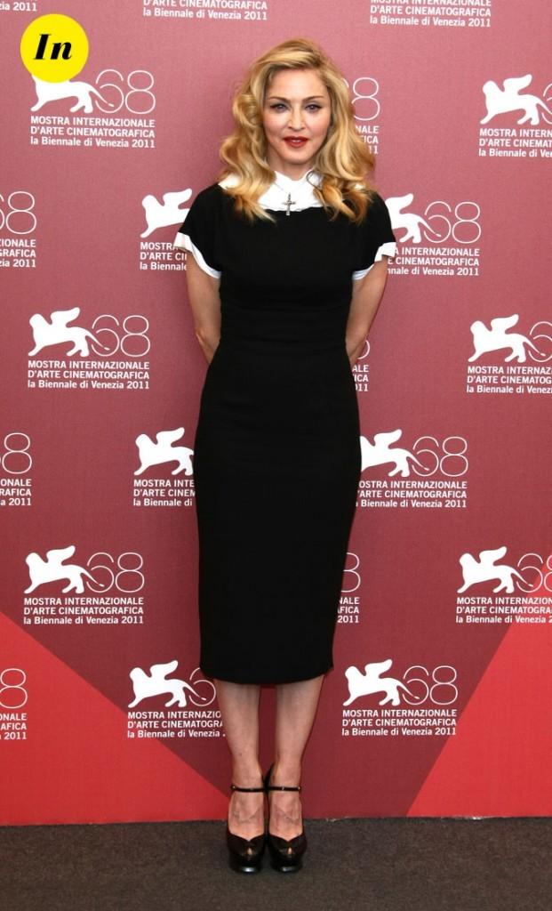 Mostra de Venise 2011 : la robe mi-longue L'Wren Scott de Madonna