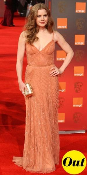 Photos : BAFTA Awards 2011 : la robe longue Elie Saab d'Amy Adams