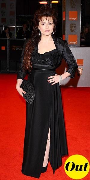 Photos : BAFTA Awards 2011 : la robe longue Vivienne Westwood d'Helena Bonham Carter