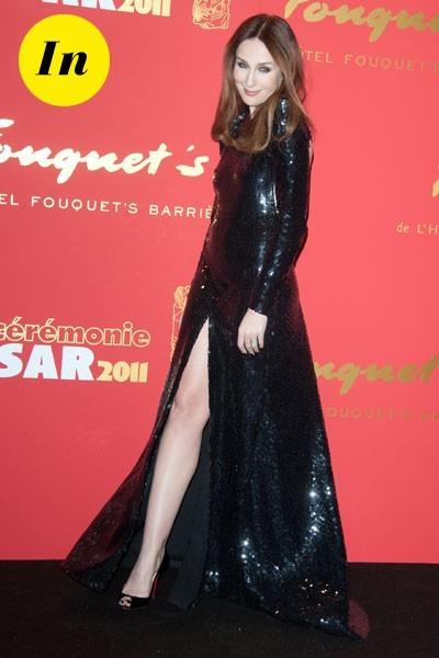 Photos : César 2011 : la robe à sequins d'Elsa Zylberstein