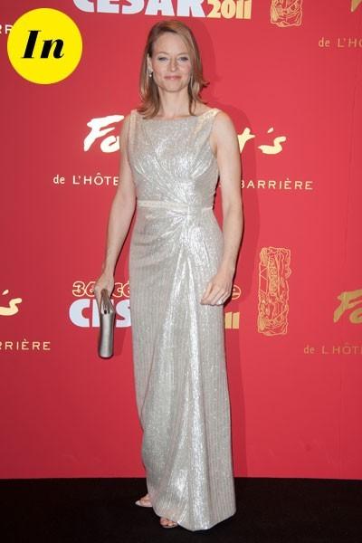 Photos : César 2011 : la robe brillante de Jodie Foster