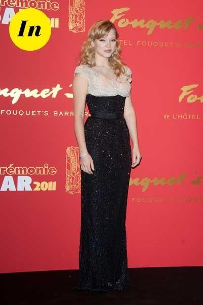 Photos : César 2011 : la robe Elie Saab de Léa Seydoux