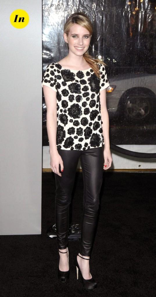 Emma Roberts, tout en simplicité !