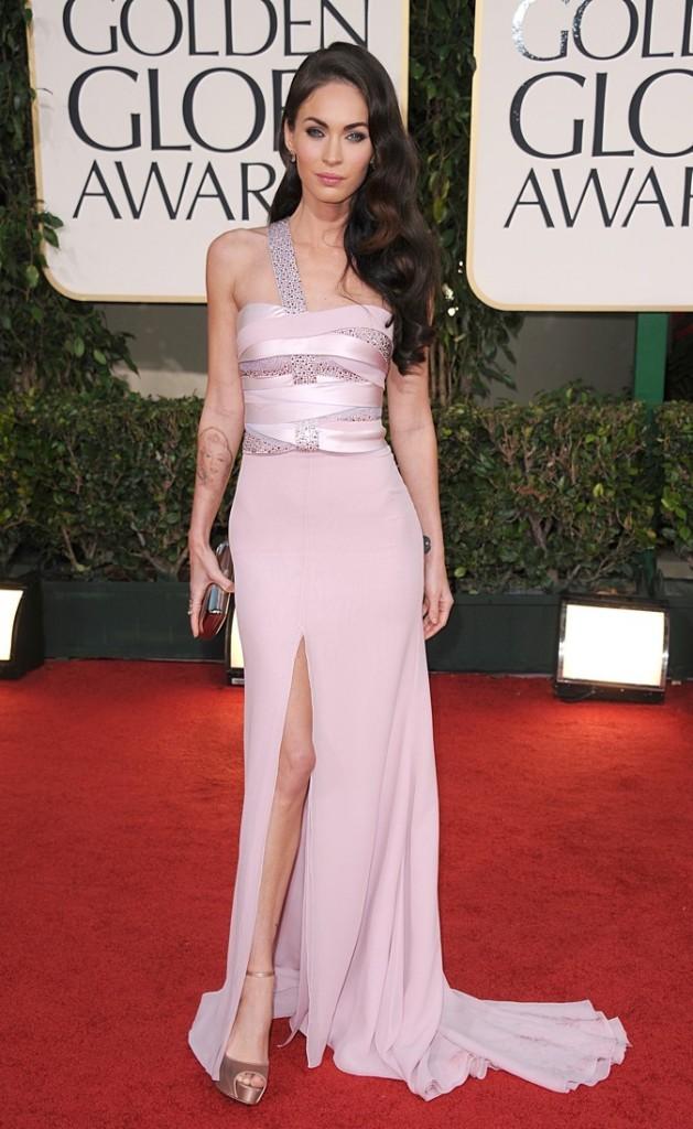 2011 : Megan Fox lors des 68ème Annual Golden Globe !