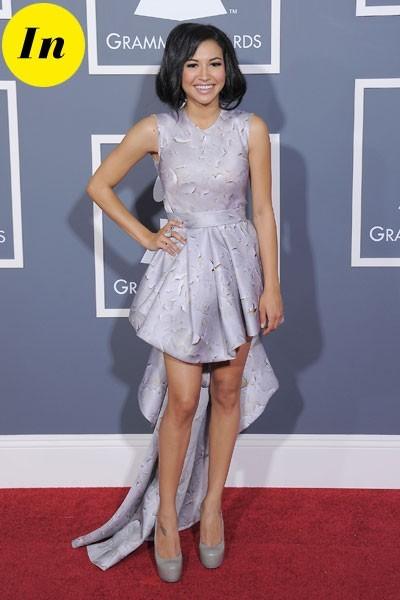 Photos : Grammy Awards 2011 : la robe de Naya Rivera